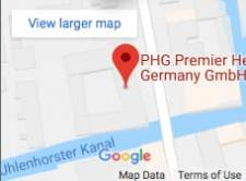 Google maps premier healthcare germany